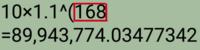 赤枠の中の数値を求める場合、どのような計算式になりますか?
