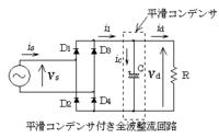 電子回路にくわしいかたへ。 添付画像のダイオードが4つある理由がわかりません。  ダイオードは一方向にだけ電流を流すと最近学んだのですが、それであればD2とD4のふたつだけでよい気がするのですが...  なにか...