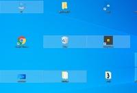 Windows10のデスクトップのアイコンがタイル状に! Windows10の中古ノートを購入しました。デスクトップの画面解像度などの変更にかなり制約があったため コントロールパネルでディスプレイア ダプターやディスプレイのドライバーを更新を試みていたところデスプレイアダプターIntel(HD)Graphics4000をネットからダウンロードして改善されたのですが いつのまにかデスクトップ...