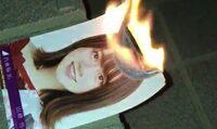 乃木坂46山﨑怜奈さんの写真が燃やされる動画がネットに投稿されましたが、 どう思いますか?