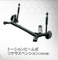 MAZDA3… カローラですらダブルウィッシュボーン式リヤサスペンションなのに…  トーションビームって… だけ ずいぶんシンプルですね?