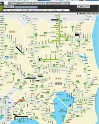 台風の影響で、黒い部分が通行止めです。 この状況で、千葉県や東京から、山梨県の甲府に行くことはできませんか??  特急あずさも運行していません。