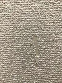 賃貸アパートのクロスの壁紙を破いてしまいました。 ↓の画像になるのですが、この場合退去時に原状回復として借家人負担での補修になりますか?