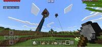 Minecraftについての質問です。 ランダムウォーク式トラップタワーを作っているのですが、近くに前失敗したタイマー式のトラップタワーがあります。その方が高さが高いのでランダムウォーク式トラップタワーは機...