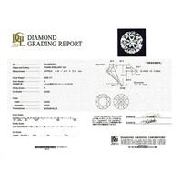 一粒ダイヤのネックレス  プラチナ 0.3ct Hカラー I1 Goodカット  7万円ほど  お買い得ですか? やはり、I1は避けた方がいいですか? また、この鑑定書は信用できるものですか?