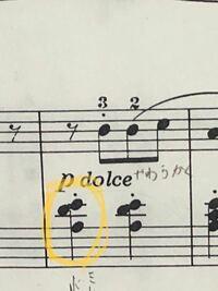 ヘ音記号でこの音はなんですか? いそいでるのでおねがいします