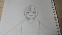 今日、学校で「絵下手だね」と言われてしまいました。(描いたイラストも載せておきます) とても悔しいので投稿させていただきます。 皆さんに、良いところと悪いところ、何歳が描いたイラストだと思うかをお聞きしたいです。お願いします(`・ω・´) イラストの子は、主が意味もなく描いた子です。 涙はなんとなく描きました(`・∀・´)
