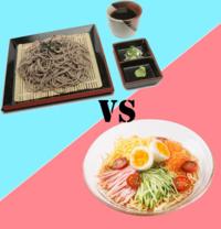 ざる蕎麦  冷やし中華  どちらが好きですか?