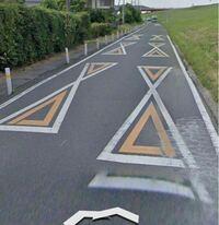 この道路表示の意味は何でしょうか? 分かる方お願いします。