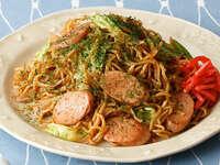 魚肉ソーセージを具材とする料理でお勧めを教えて下さい(^^♪  魚肉ソーセージが大好きな者です。