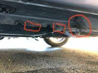 ジャッキアップをよくする車はジャッキアップポイントが痛むものですか? ダイハツの車です。 気にしなくて良いでしょうか?