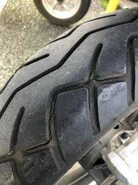 タイヤ交換でバイク屋まで乗っていこうと思うんですが途中でバーストしないか心配です… このタイヤでも30kmほど走れますか…??