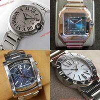 腕時計でブルガリかカルティエだとどちらの方がいいと思いますか? 今年30になる男性です! 画像の上がカルティエで、下がブルガリです。