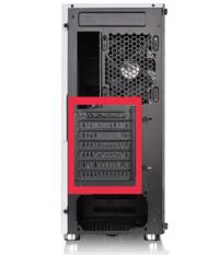 PCケースについてです。 下記のPCケースなのですが写真の四角部分は取り外せないのでしょうか? 2段目と3段目が外せればいいのですが…。  Thermaltake Versa H26 White /w casefan ミドルタワー型PCケース [ホワ...