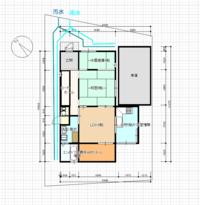 機能門柱セレージュ左設置位置を教えてください。南北に細い60坪ぐらいの小さい敷地、両隣に挟まれています。 変形していますが、道路キリキリに設置するのか、玄関に平行に設置するのかどちらですか。 玄関に...