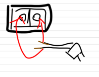 電気ポットの電源コードについての質問です。 電気ポットの電源コードの差し込み口の電極棒に、銅線を巻き付けて使用することは可能ですか? 危険であることは分かりますが、電源コードを買う までの応急処置と...