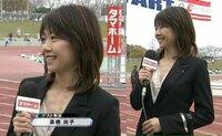 【放送事故】現在、生放送中の番組内でオリンピック金メダリストの高橋尚子さんが失言。。解説を聞きましたか? 「東京オリンピックに出れるか出れないか‥」と発言しましたが正確には「オリンピックに出られるか...