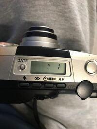 カメラ全くの初心者です。 pentax espio140mなのですがこの上の数字はなんですか?