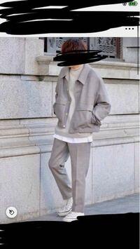 メンズコーデについて2つ質問があります。 この写真のコーデは、低身長(163cm)が着ても 似合うでしょうか?  また、どの季節でも着れるズボン は何がありますか?? 黒スキニーやデニムパンツやワイドデニムパン...