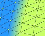 PMXエディタについて質問です。 ウェイトを理解しきれないままずっとmodeをweightで塗っていたのですが、 weightで見ると真っ赤(ウェイト100)に見えるのにweightTypeで見ると画像のように二色になります。 ウェイトを初期化すると画像の右側の黄緑になるのですが、その後0で塗っても100で塗ってもやっぱり黄緑になるのでよくわからなくなりました。 よければmode▼の、...