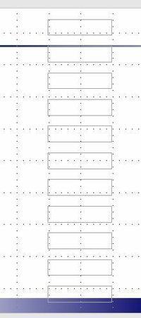 【パワーポイント 図形と図形の幅調整のやり方について】  パワーポイントの図形と図形の幅の調整方法を教えて頂きたいです。 図形の大きさや等間隔の調整のやり方は分かるのですが、 図形同士の幅を調整できません。  例えば、図形と図形の間隔を0.5ミリに指定するやり方があればご回答お願い致します。