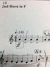 2泊3連についてです。 楽譜に2泊3連のタイが出てきてリズムがわかりません  教えてください ⤵