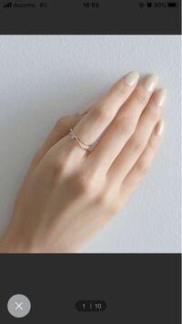 この指輪に合わせるピンキーリングはどんなタイプが合いますか? こちらのカラーはピンクゴールド寄りで、もっと薄い感じです。