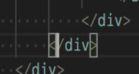 Visual Studio Codeでタグのハイライトを消したいです。  添付のように選択しているタグの 括弧と閉じ括弧につくハイライトを消す方法はありますでしょうか? ありましたら、消す方法をご教示お願いいたします。
