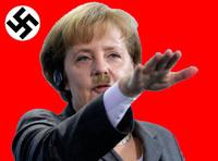 メルケルは、ナチス崇拝者だった。ドイツでは、ナチス式敬礼が禁止されているのにメルケルは、ナチス式敬礼をしている。そしてメルケルは、ヒトラーにそっくりだ。メルケルは、ヒトラーと血が繋 がっているのだろ...