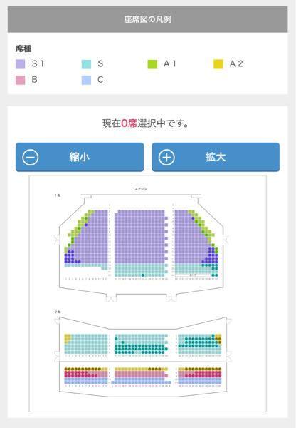 劇団四季名古屋劇場ライオンキングを見に行こうと思っています ①ステージ向かって右側ブロック1階18列38番 ②ステージ向かって右側ブロック2階2列32番 どちらがおすすめでしょうか? 1階だと...