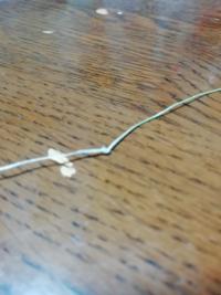 釣り糸に結び目ができてしまいました。 直したほうがいいでしょうか? また直す方法はありますか?