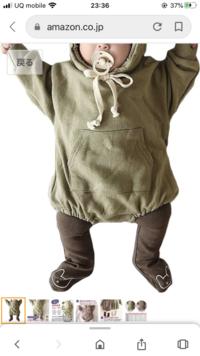 ベビー服で、画像のようなパーカーロンパースの場合インナーは皆さんどうしてますか?  長袖or半袖のロンパースを着せて、タイツorレギンスを履かせた上にパーカーロンパース、という形でしょ うか? それもと半袖シャツを着させていますか?