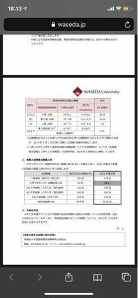 早稲田大学の国際教養学部で英語外部検定試験で実用英語技能検定は新型のS-CBT型と旧型どちらも使えるのでしょうか?