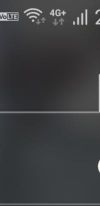 WiFiと4Gのマークが一緒に出てきます…この状態が2日ほど続いています。ギガを使っている状態なのでしょうか?