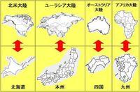 四国とオーストラリアは国の形もそうですが、どちらも別の国から島流しにあった人間達が集まって出来た国という点でも似通ってませんか?使用する言語も流された国の物が色濃く反映されてる(四国は近畿からの影...