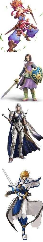 勇者と聖騎士、どちらが格上なイメージありますか? ドラクエやファイナルファンタジーなど。  勇者や聖騎士がありますよね、様々なゲームやアニメの主役級のキャラとして登場するようです。ドラゴンクエストや...