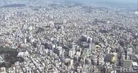 この市の人口は何人位に見えますか?