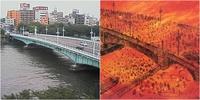 自分の会社には2名の(自称霊感持ち)が居る。良くその後輩を乗せて車で橋を渡ったり、一緒に歩いて営業先に行ったりする。先月そう言えば今日は3月10日の東京大空襲の日だな。 と言うと、2名はその事実も日にちも知らなかった。  有名なその言問橋は1945(昭和20年3月10日未明、火焔地獄となった日)で火に囲まれ川に飛び込み多くの方が亡くなった場所。自称霊感有りは今まで何度も橋を渡り行き来し、...