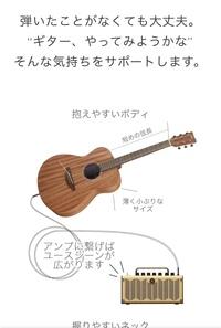 ギターについてです。 storiaというヤマハのアコギを購入しようと思っております。 写真を見る限りアンプに繋げるタイプなのでエレアコだと思うのですが、説明にはアコギとしか書かれていませ ん。 実際どちら...