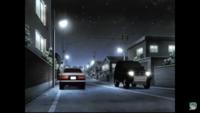 頭文字Dのこのシーンで反対車線を走ってる車の車種何ですか?  分かる方居ますかね