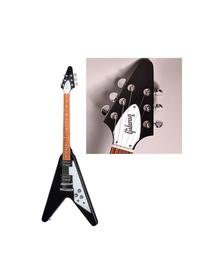Gibson FLYING Vについてなんですけど、弦を交換する時、弦を切る目安ってどのくらいなのでしょうか。 ○弦は□個先のペグ分、のような形で教えていただけると嬉しいです。 このような普通のFLY ING Vです。
