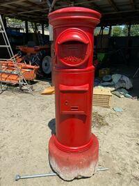 軽トラの荷台から350キロ程度の円柱形のポストを安全に降ろす方法を教えてください。