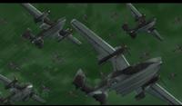 とある飛行士の追憶シリーズの機体の バランスになんか違和感を感じてます
