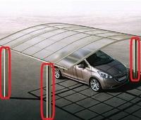 自宅にカーポートを所有されている方にお伺いをいたします。 ・ ご自宅のカーポートの柱の材質は何でしょうか。 ・ 1.鉄 2.ステンレス 3.アルミ