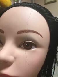 ウィッグの髪の毛がくるくるになって困っています 美容学生だった、美容学生の方、美容師の方に質問です。 美容学生1年です。 今ワインディングの練習をしているのですが、髪の毛が1本だけ縮れたみたいな細かいく...