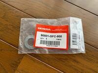 ホンダトゥデイ(AF61)の純正部品なのですがどこに使うワッシャー(16mm)なのかわかりません。 どなたかわかる方回答お願いします。
