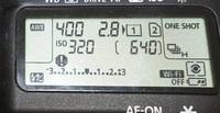 キヤノン5d4の上部の表示パネルに「!」マークが出てるのですが、何か不具合でしょうか?