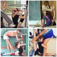 新体操の柔軟って気絶するほど痛いと聞いたことがあるのですがこんな柔軟やって体は平気なんですか?