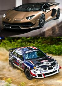 ランボとインプどっち速い?ランボルギーニSVJ/SVとインプレッサWRX STIどっち速そうだ?