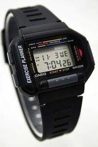 腕時計のカシオ この型番 品名 教えてください